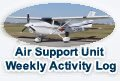 Air Support Unit Weekly Activity Log