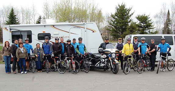 Operation PPAD (Peacekeepers Pedaling for Aboriginal People with Diabetes)