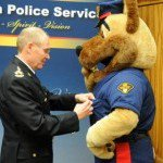 Police mascot Sarge Swearing-in 2010