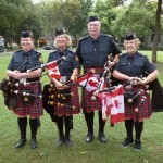 Pipes and Drums in Shanghai September 2014