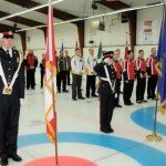 2013 Canadian Police Curling Championship - SPS Honour Guard