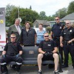 MADD Memorial Bench and Stone Presentation Ceremony in Victoria Park 2013