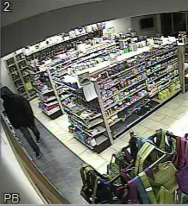 Suspect in Pharmacy Robberies - Caucasian male, approximately 20 years old, 6' tall,…
