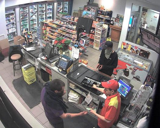 Can you identify these armed robbery suspects who robbed a gas station at the corner of Broadway…