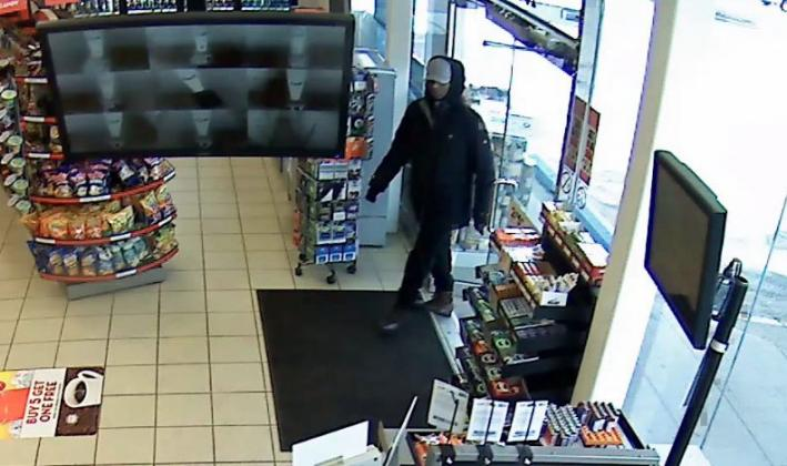 We are investigating an armed robbery that occurred at a gas station at 8th Street and Cumberland…
