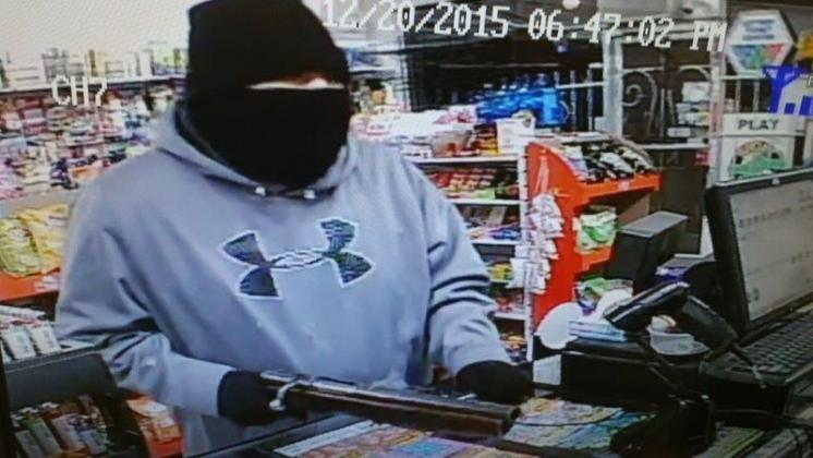 Can you identify this armed robbery suspect who used a sawed-off shotgun to rob a business…