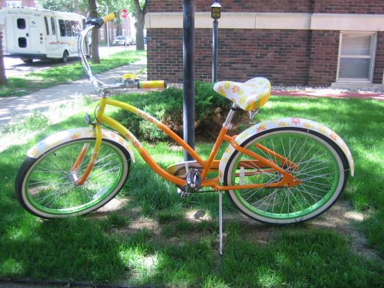 ELECTRA Daisy Women's Cruiser orange/yellow in…