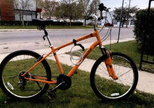 Expedition Mountain Bike Orange in colour Serial #:…