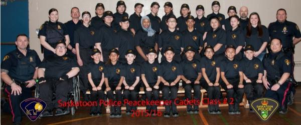 Saskatoon Police Peacekeeper Cadets Class #2