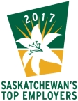 Chosen as one of Saskatchewan's Top Employers for 2017